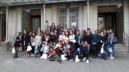 Vienne 2017, Photo de groupe devant la Caisse d'Epargne