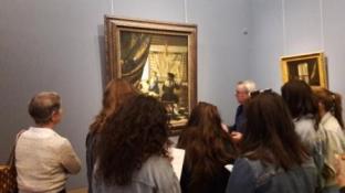 Vienne 2017, devant un Vermeer