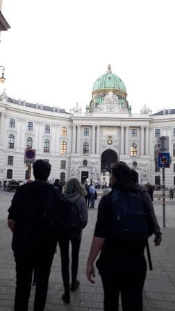 Vienne, la Hofburg
