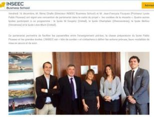 partenariat INSEEC