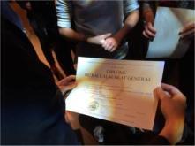Bac remise des diplômes, 2016
