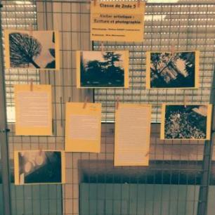 Atelier d ecriture 2017