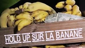 Affiche Hold up sur la banane