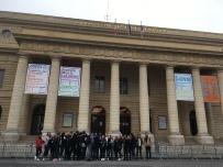 jeudi 8 novembre premiers contacts avec le théâtre de l'Odéon et premiers exercices théâtraux.