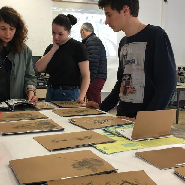 Projet art Pla 1ere, année 2017-2018