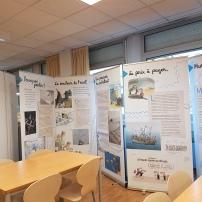 Exposition au CDI, les migrants, 2019